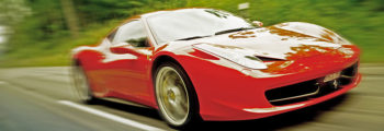 Röd Ferrari