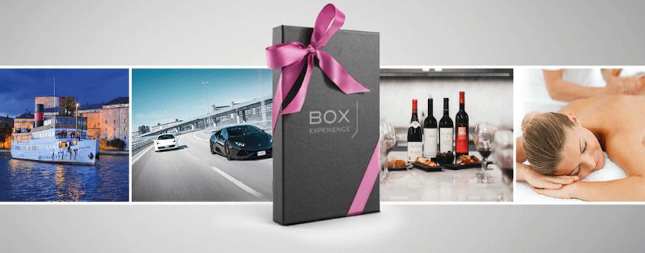 box experience presentkort